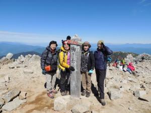 10月木曽駒ケ岳