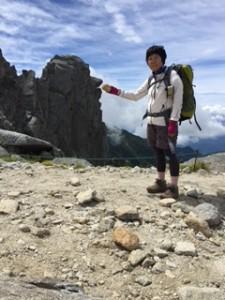 8月宝剣岳