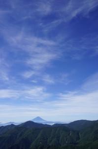 7月甲武信ヶ岳