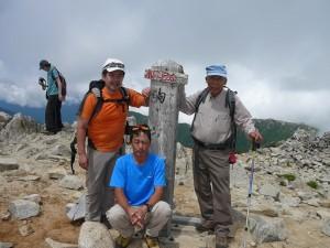 ⑫駒ヶ岳山頂