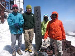 富士山頂2015,05,31